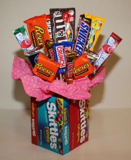 Diy candy bouquet ida skinner