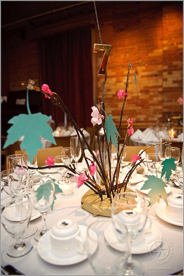 Wedding wednesday alternative centerpieces to flowers
